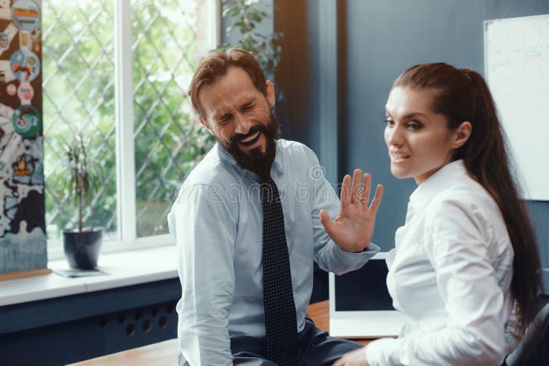 Konflikt i problemy na miejscu pracy zdjęcie royalty free
