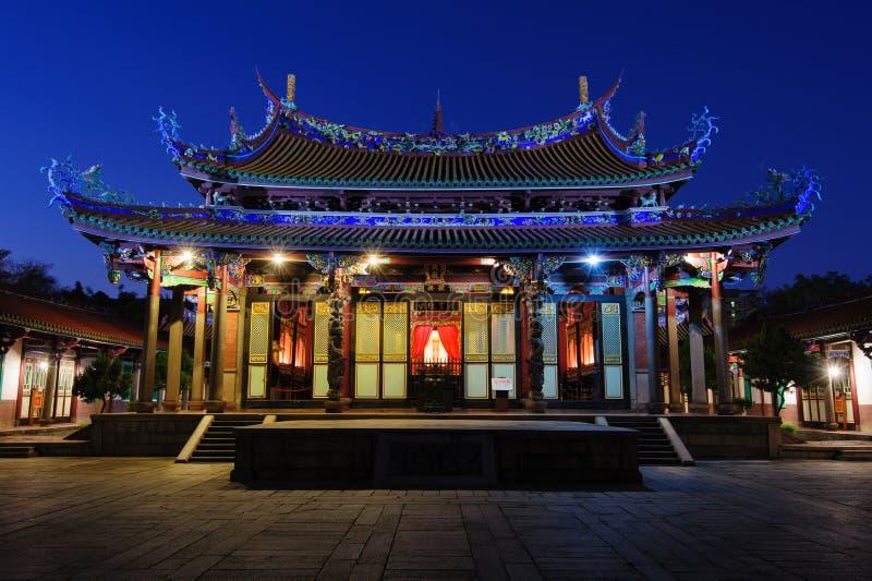 Konfucius tempel royaltyfri bild
