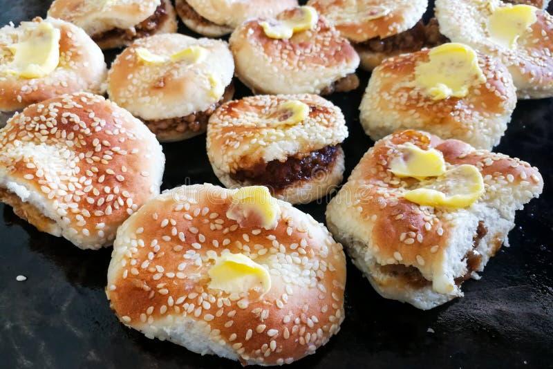 Kong Piah, populair snackkoekje onder foochew Chinees in Maleisi stock afbeelding