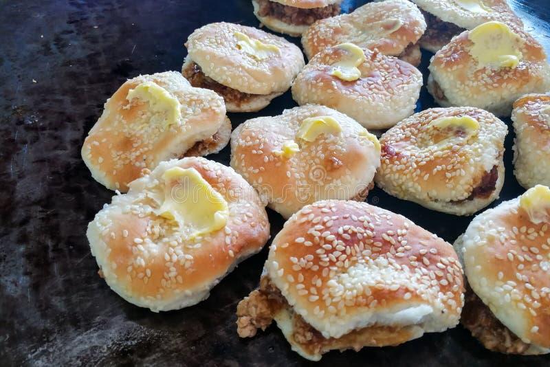 Kong Piah, populair snackkoekje onder foochew Chinees in Maleisi? stock afbeeldingen