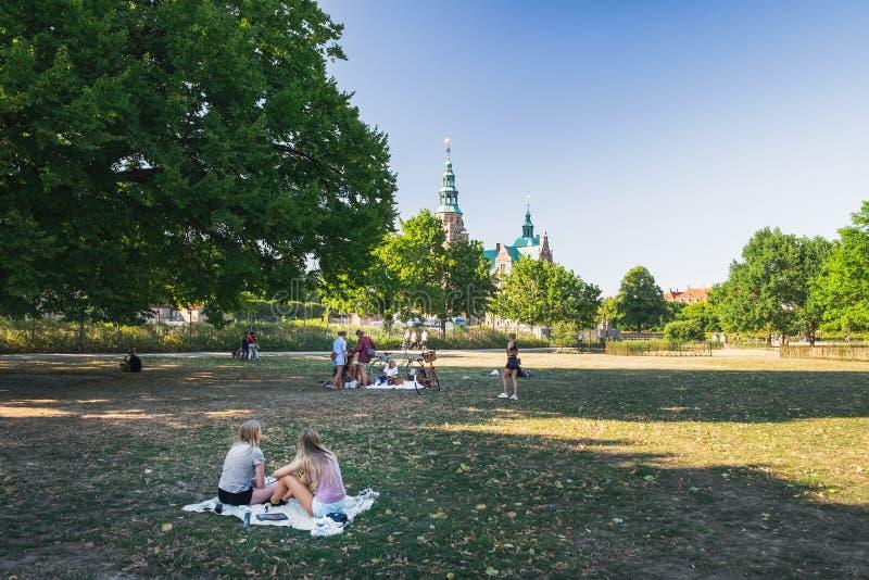 Kongens tiene en Copenhague, Dinamarca fotos de archivo libres de regalías