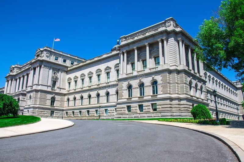 Kongressbibliothek, Washington, DC stockbild