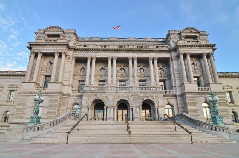 Kongressbibliothek, Washington DC Vereinigte Staaten stockfoto