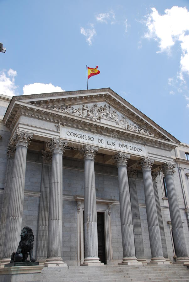 kongresu spanish zdjęcia stock