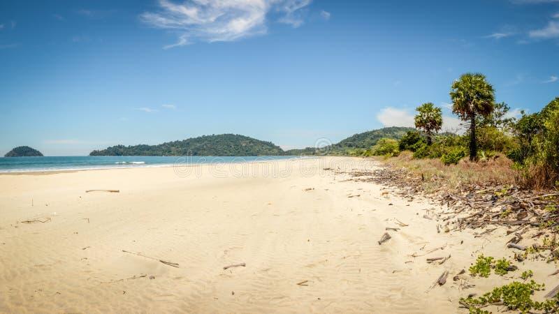 Konia buta plaża, Tanintharyi Regin, Myanmar obrazy stock