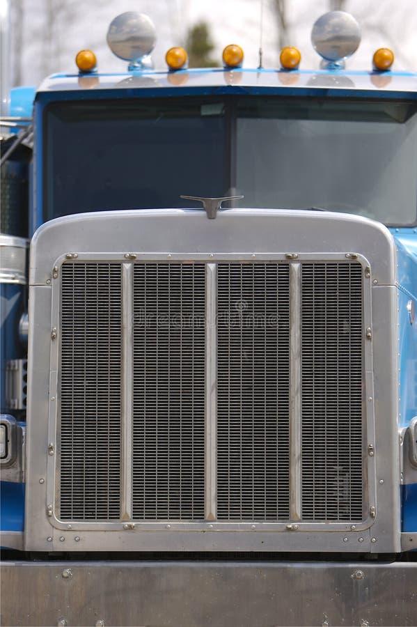 koniec frontu semi ciężarówka zdjęcie stock
