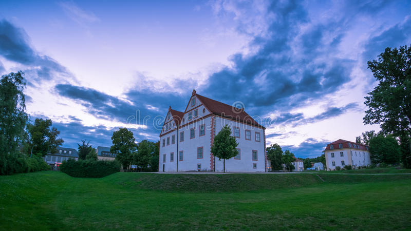 Konigs Wusterhausen evening. royalty free stock photo