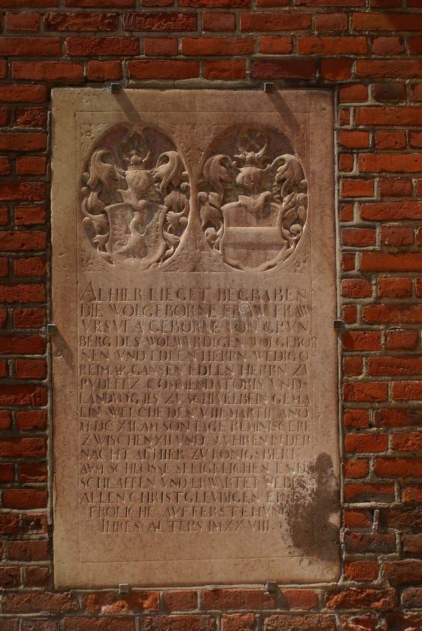 Konigsberg Kathedrale lizenzfreies stockfoto