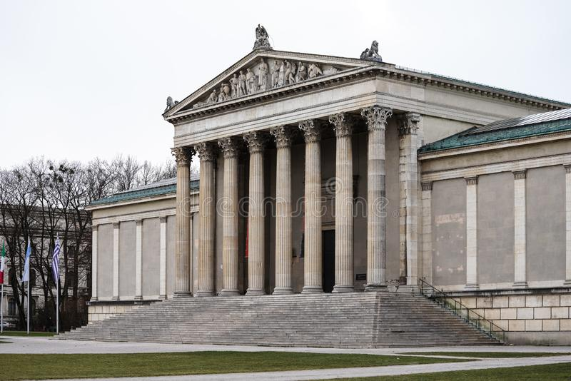 Konigsplatz - Kings Square, state capital Munich, Bavaria, Munich, Germany stock images