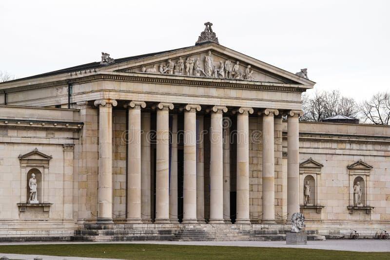 Konigsplatz - Kings Square, state capital Munich, Bavaria, Munich, Germany royalty free stock photo
