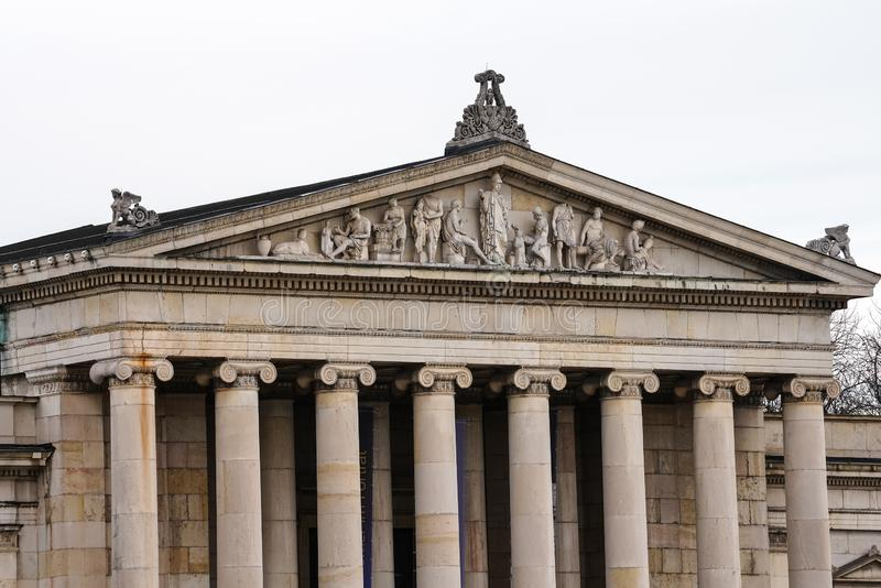 Konigsplatz - Kings Square, state capital Munich, Bavaria, Munich, Germany royalty free stock images