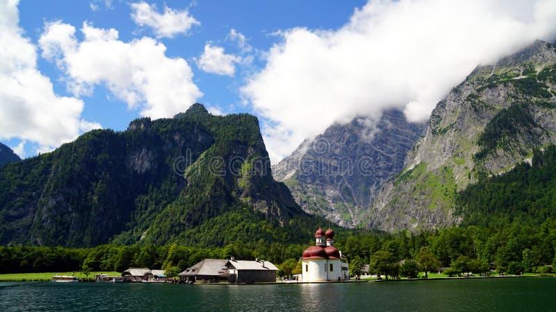 Konigssee lake - Germany stock photo