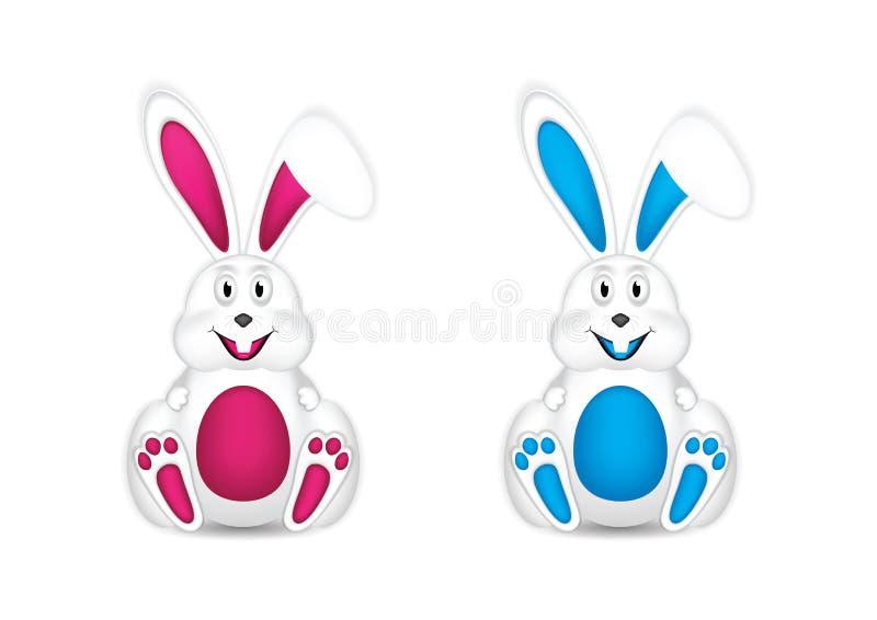 konijntjes stock illustratie