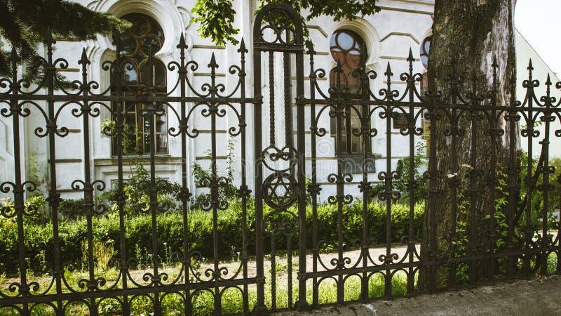 Konin, Польша Историческая синагога малого польского городка вызвала Konin Большая провинция Польши стоковое изображение