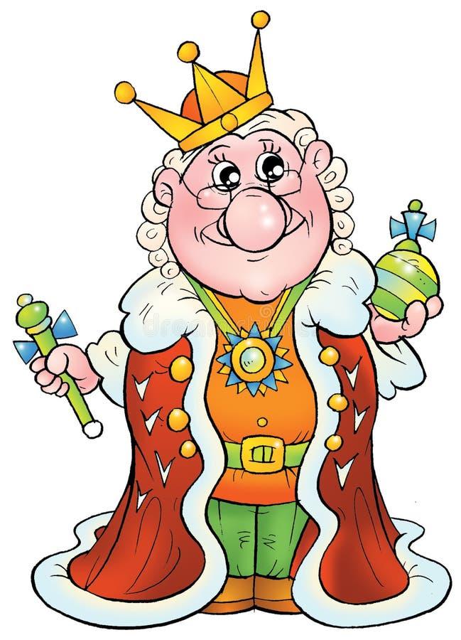Koning vector illustratie