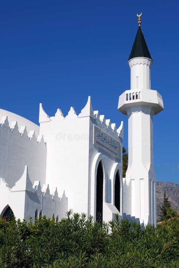 Koning Abdul Aziz Al Saud Mosque, Marbella, Spanje royalty-vrije stock foto's