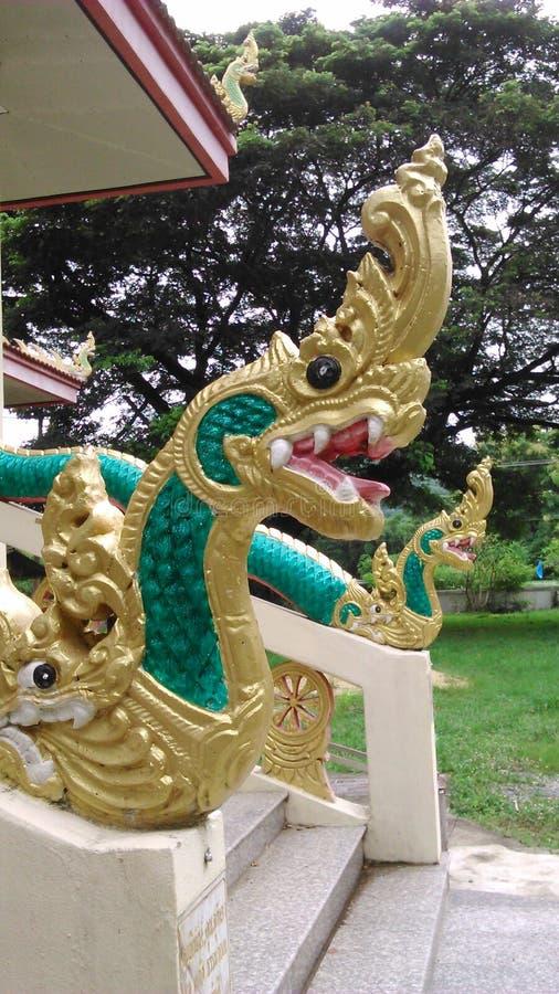 Koning als naga, Serpent royalty-vrije stock afbeeldingen
