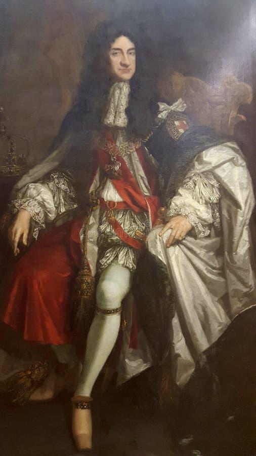 Koning Charles royalty-vrije stock fotografie