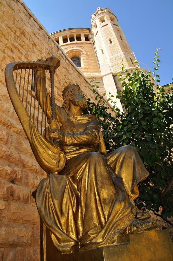 Koning David. stock fotografie