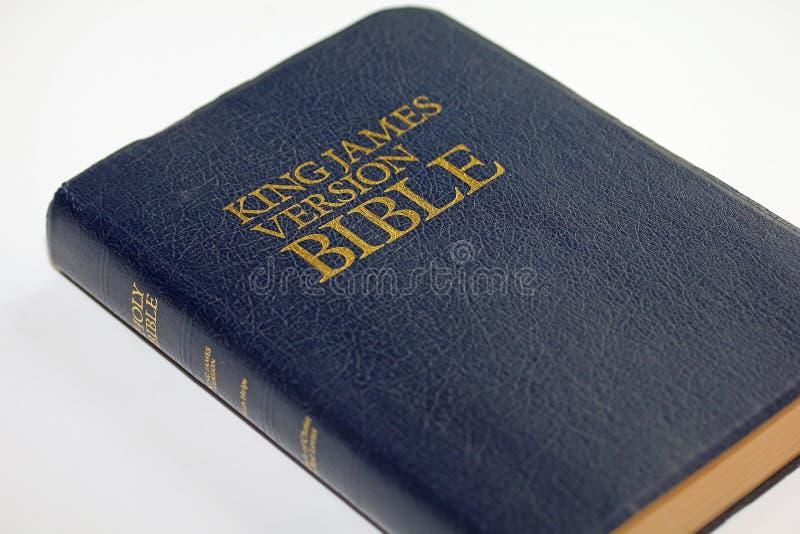 Koning James Version Bible royalty-vrije stock foto