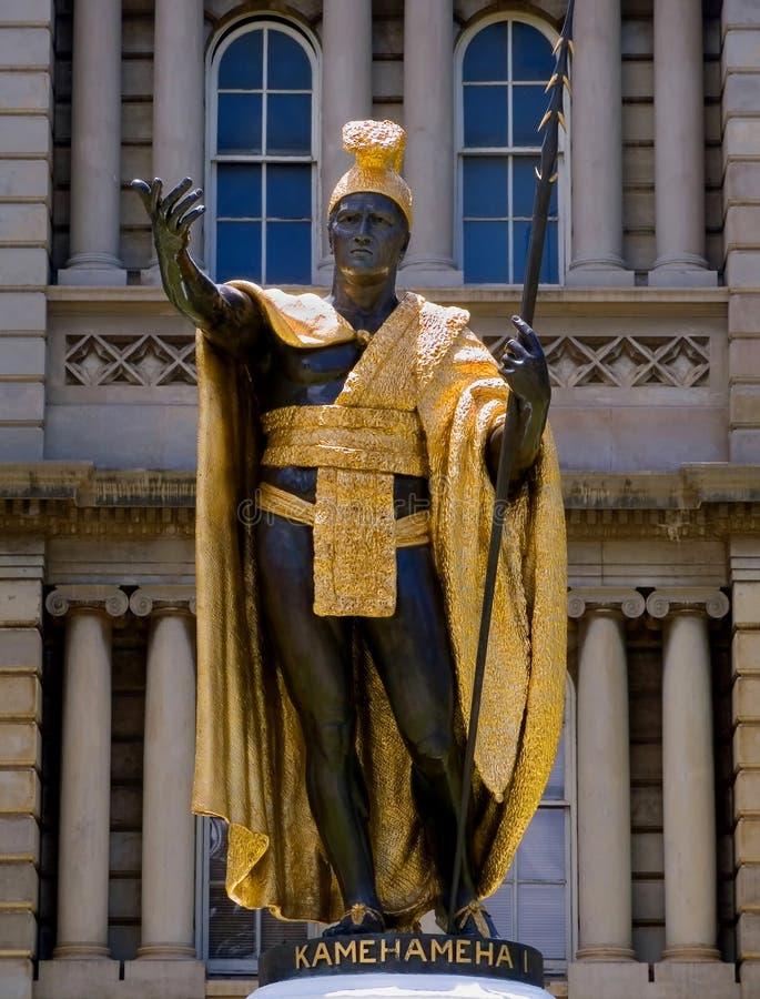 Koning Kamehameha royalty-vrije stock afbeelding