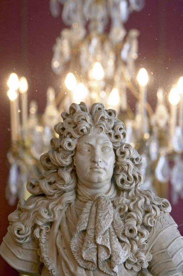 Koning Louis XIV stock foto's