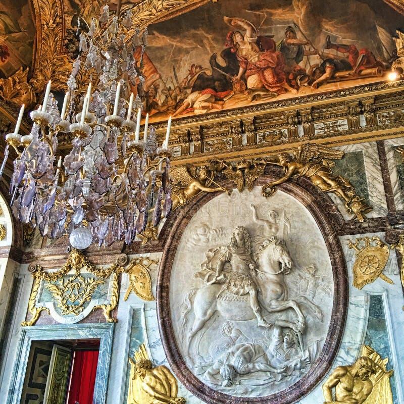 Koning Louis XIV Steenbeeldhouwwerk royalty-vrije stock foto's