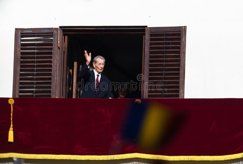 Koning Mihai I van Roemenië stock fotografie