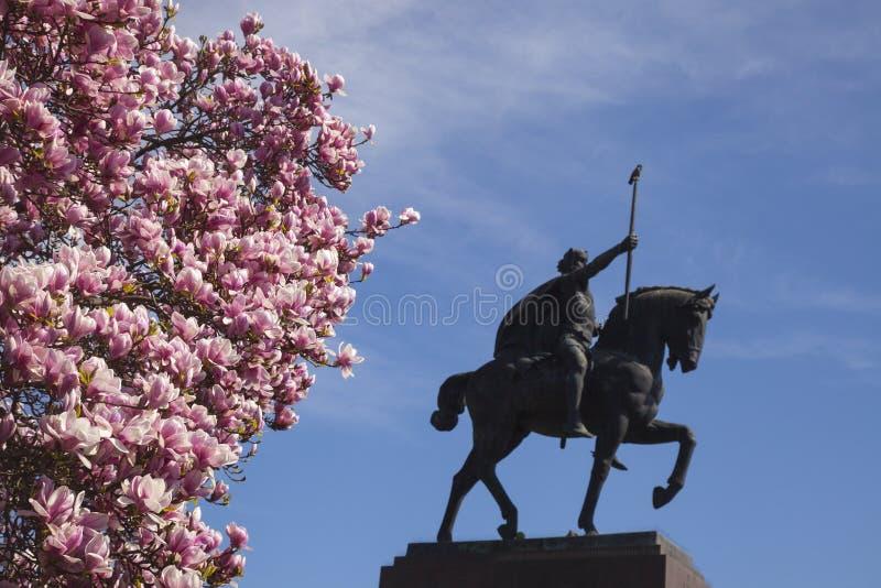 Koning op het paard royalty-vrije stock afbeelding