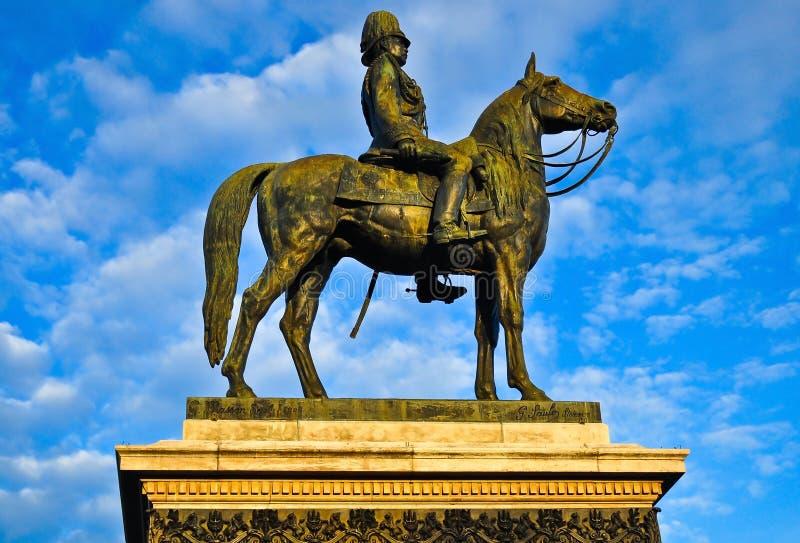 Koning Rama V Monument stock afbeelding