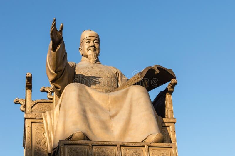 Koning sejong groot royalty-vrije stock foto