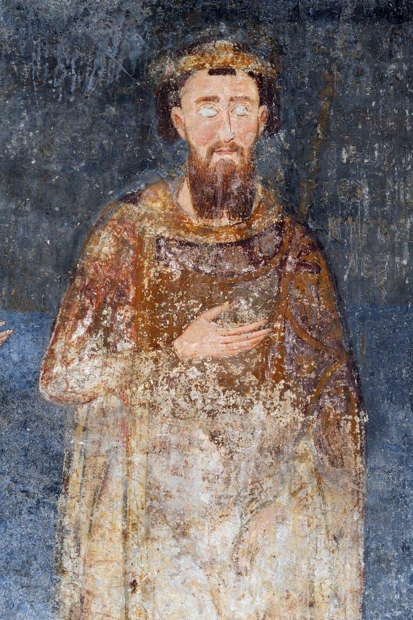Koning Stefan Prvovencani royalty-vrije stock fotografie