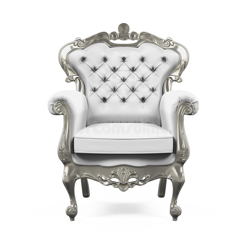 Koning Throne Chair vector illustratie