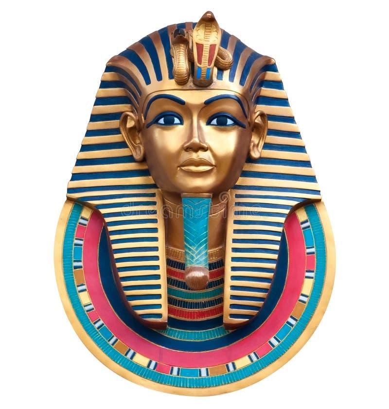 Koning Tutankhamun royalty-vrije stock afbeelding