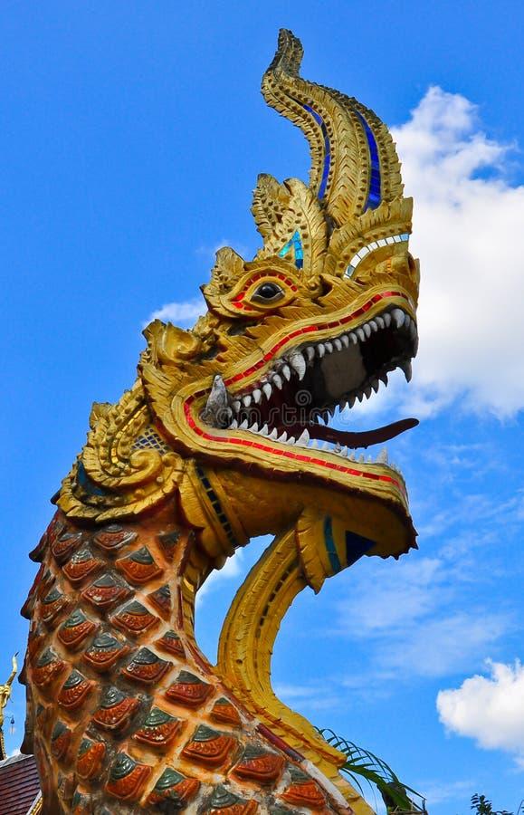 Koning van Naga stock afbeelding
