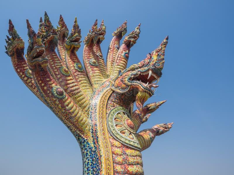 Koning van Nagas stock foto's