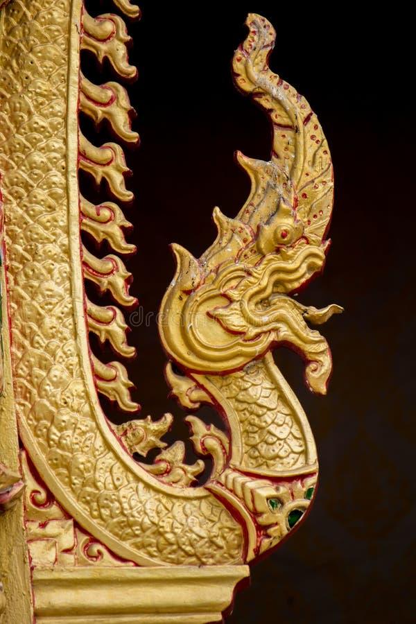 Koning van Nagas voor de tempel in Thailand royalty-vrije stock afbeeldingen