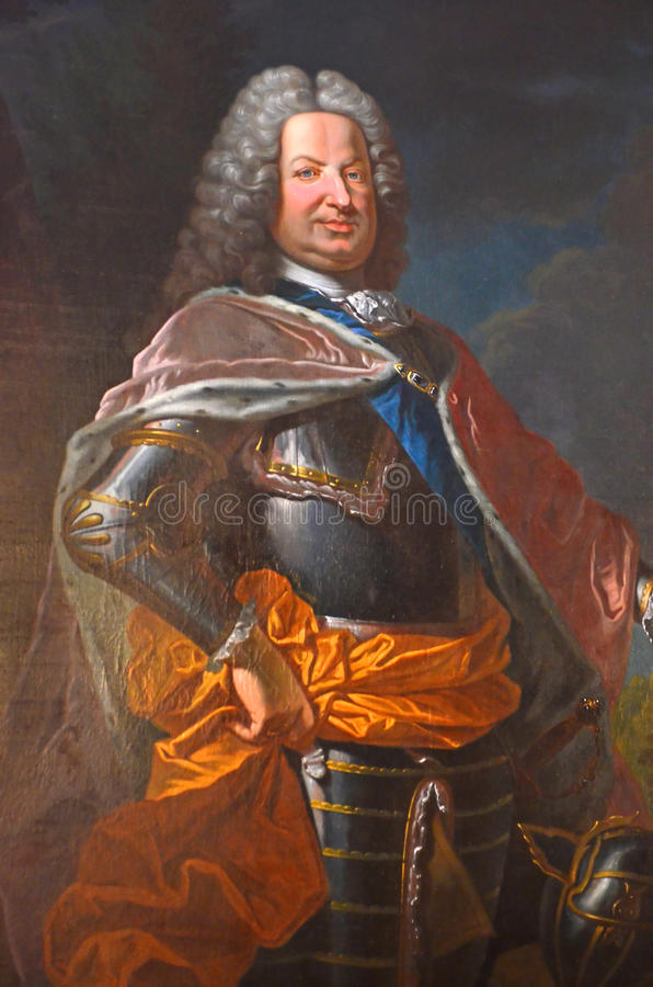 Koning van Polen royalty-vrije stock foto's