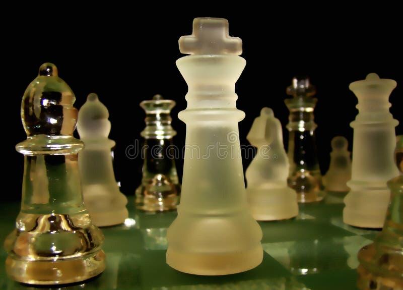Koning van schaak stock afbeeldingen
