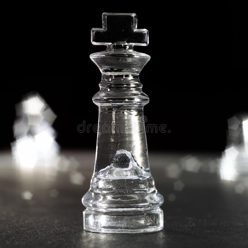 Koning van schaak royalty-vrije stock afbeelding