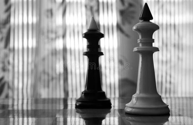 Koningen van schaak stock fotografie