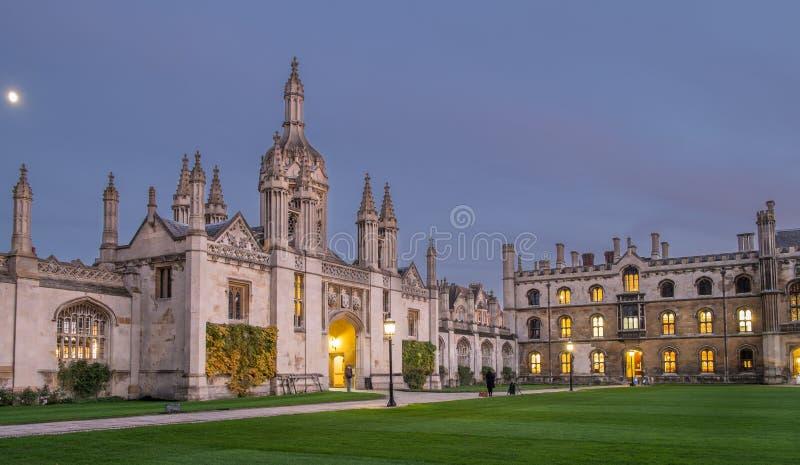 Koningenuniversiteit Cambridge stock afbeeldingen