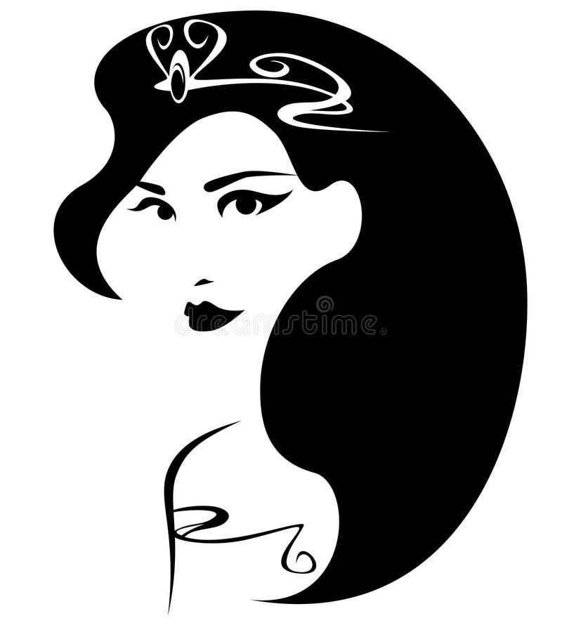 Koningin vector illustratie