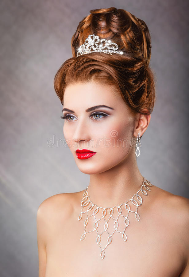 Koningin royalty-vrije stock afbeelding