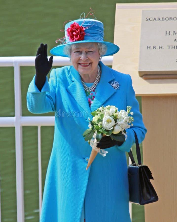 Koningin Elizabeth II royalty-vrije stock foto's