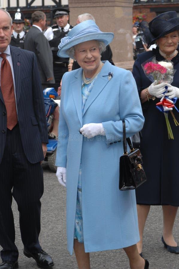 Koningin Elizabeth II stock fotografie