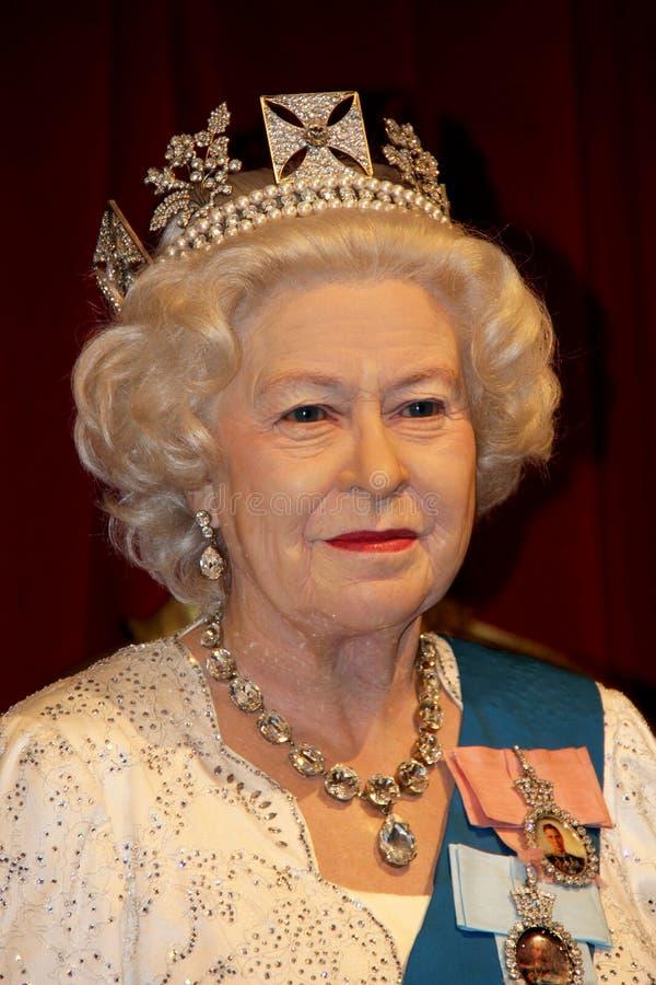 Koningin Elizabeth II royalty-vrije stock afbeelding