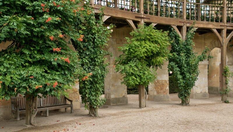 Koningin Hamlet in het park van het Paleis van Versailles stock foto's