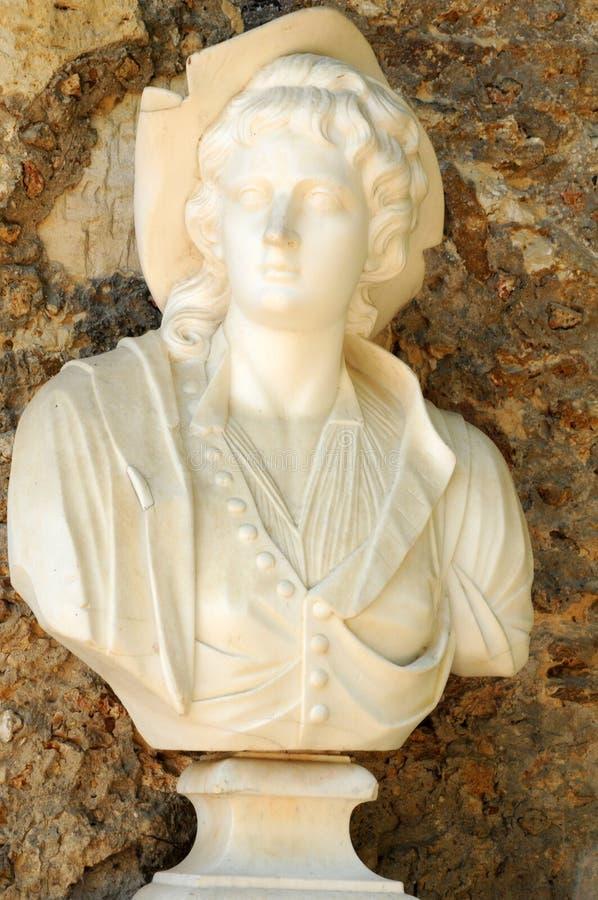 Koningin Hamlet in het park van het Paleis van Versailles royalty-vrije stock fotografie