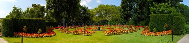 Koningin Marys Rose Gardens stock foto